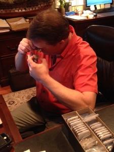 Dan working on TA #17 (2)
