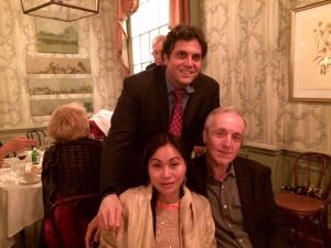Luis Doming and wife Nena. With Augi Garcia (Gala Dinner)