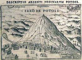 Drawing of Potosi Mountain