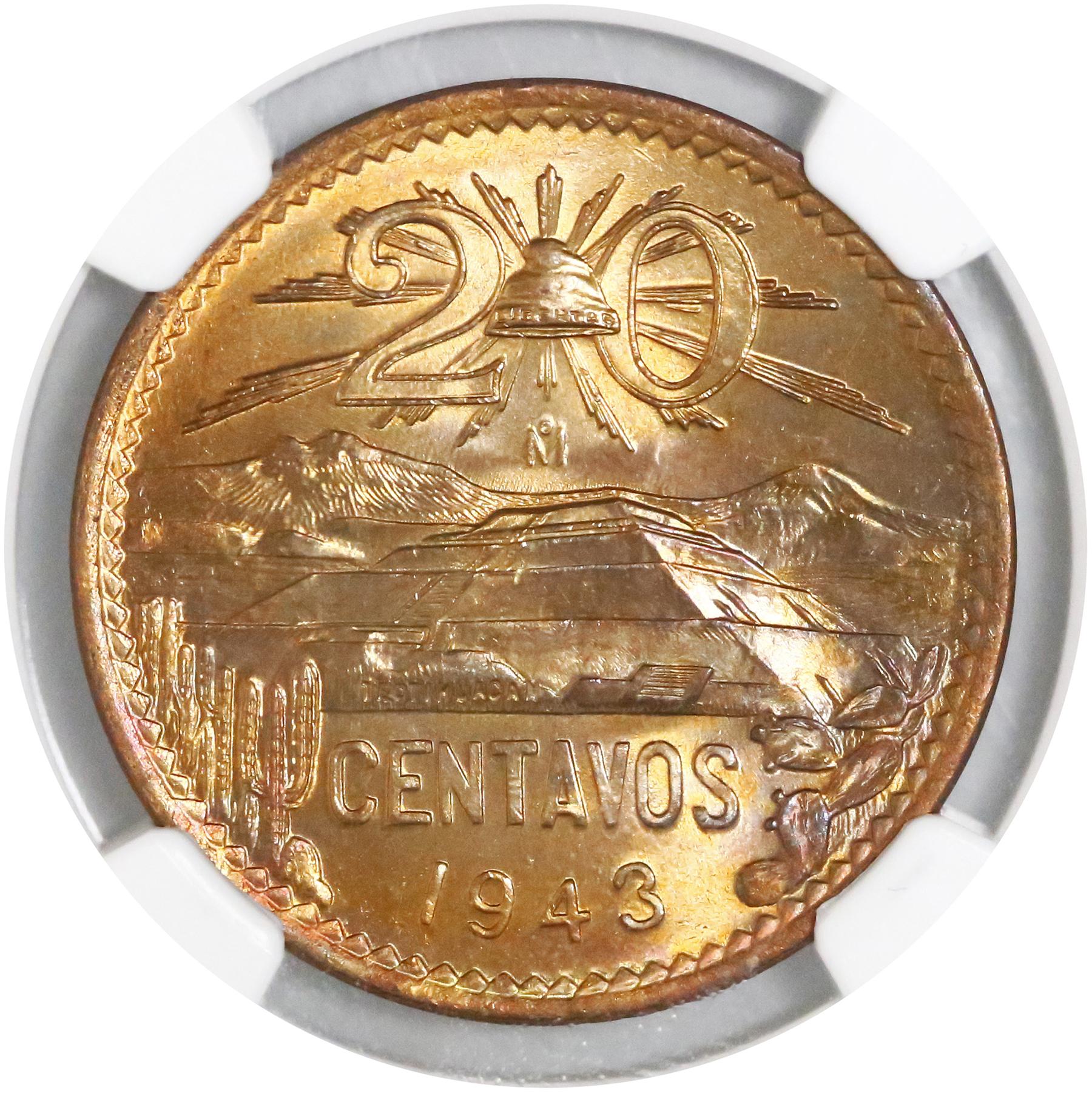 Águila o Sol? The Mexican 20 centavos of 1943-1974 | The Cob
