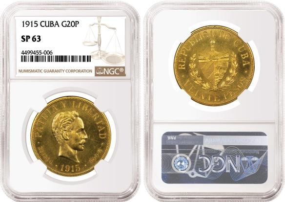 Cuban Money Coins